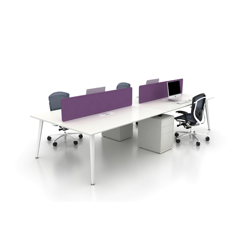 Modern office desk improves productivity