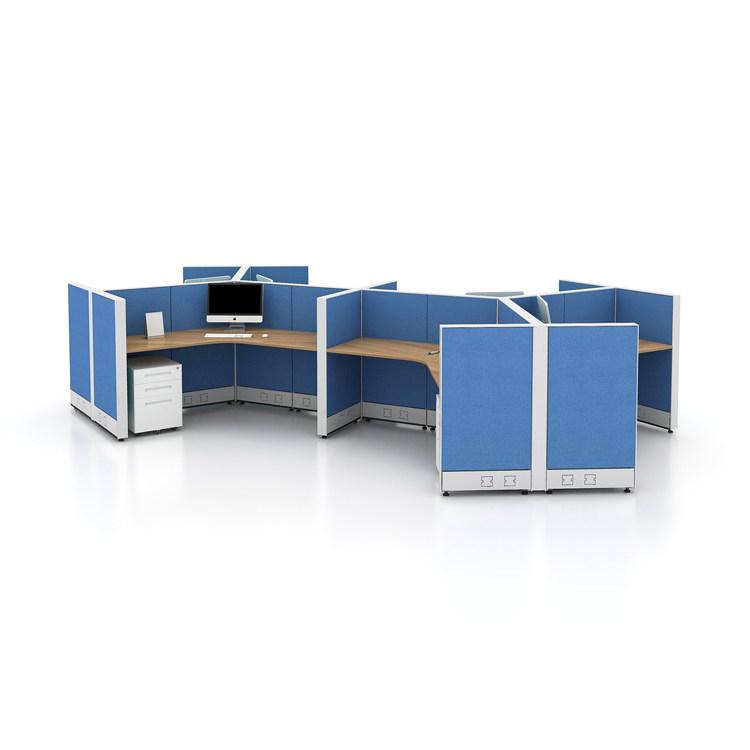 4 person workstation desk for modern office furniture