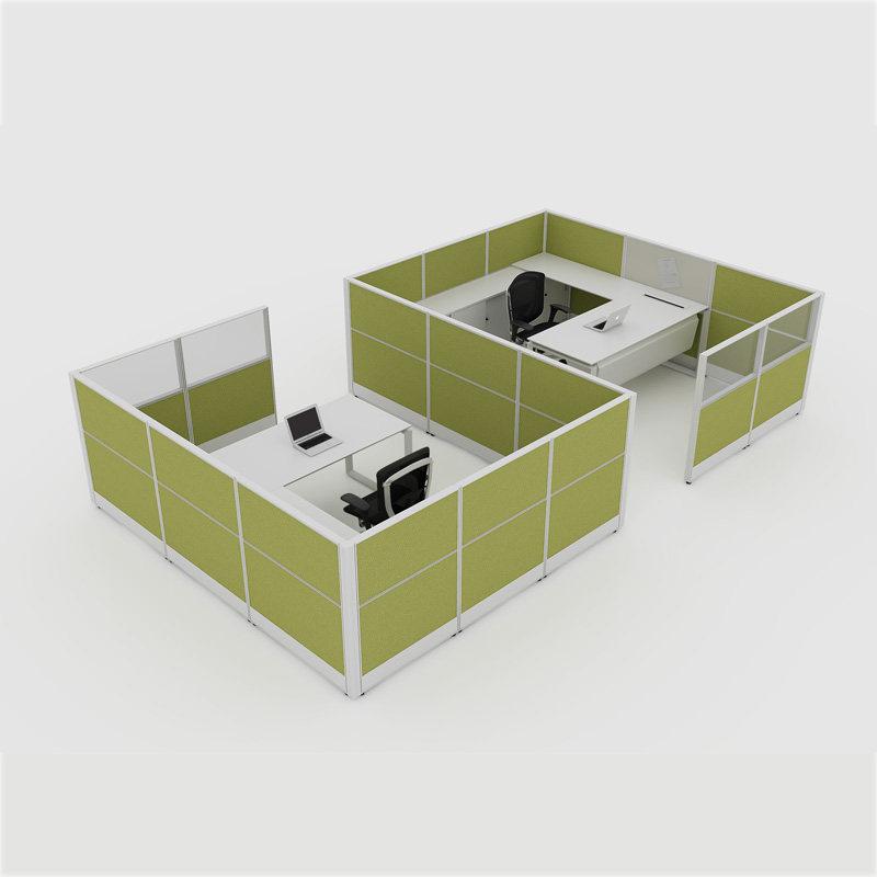 modern office furniture double workstation desk